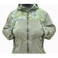Куртка Флисовая «Подгорка» с капюшоном, усиленная накладками