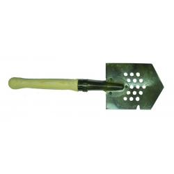 Лопата малая сапёрная «Кованная» для каменистых грунтов