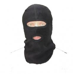 Маска Флисовая мод.: «2-D», «3-D» Флисовая цвет черный,белый