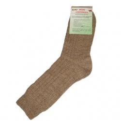 Носки согревающие из верблюжьей шерсти Состав: Верблюжья шерсть - 70% Эластик - 30% Размер: 21, 23, 25, 27, 29, 31